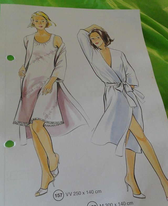 Lutterloh robe and nightie