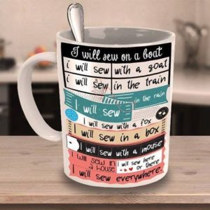 coffe cup Dr Seuss