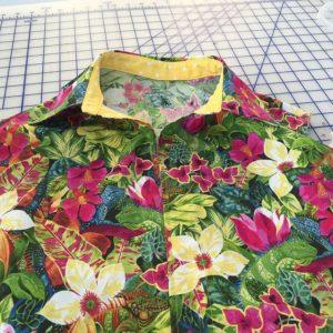 Lutterloh blouse 2 collar detail