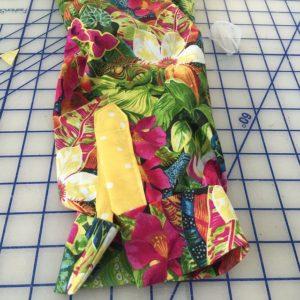 Lutterloh blouse 2 sleeve placket