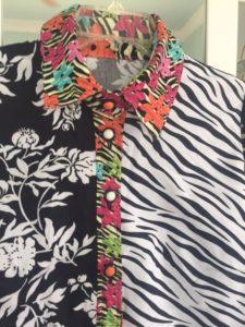 lutterloh blouse 297 4 buttons